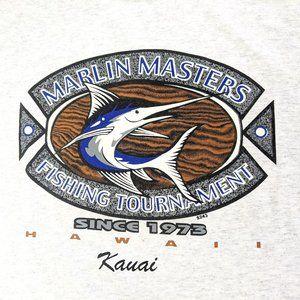 Marlin Masters Fishing Tournament Kauai Men's Tee